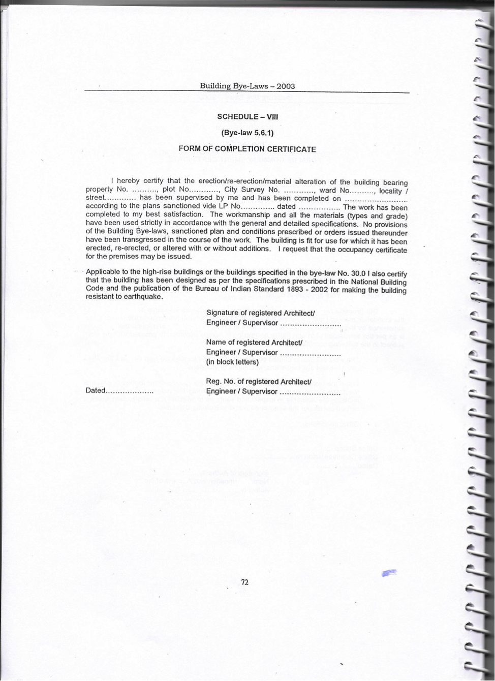 Building By Laws Form Of Completion Certificate P1.png